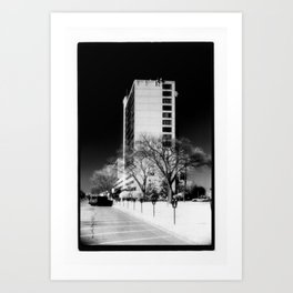 Building In The Sky Art Print