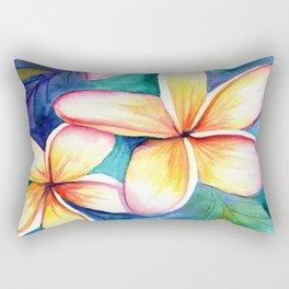 Blooming Plumeria 5 Rectangular Pillow