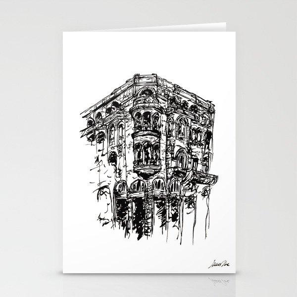 Urban Inkscape 1 Thessaloniki Stationery Cards