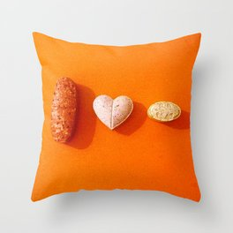 I LOVE EXTASY Throw Pillow