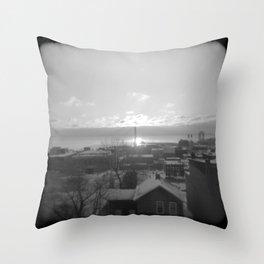Downtown Duluth Throw Pillow