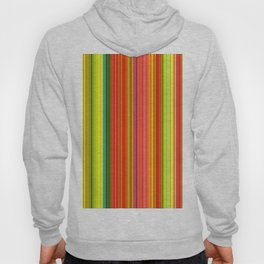 Rainbow Glowing Stripes Hoody