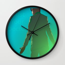 Trust Your Doctor Wall Clock