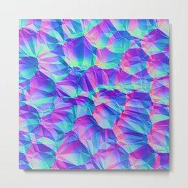 Voronoi 2 Metal Print