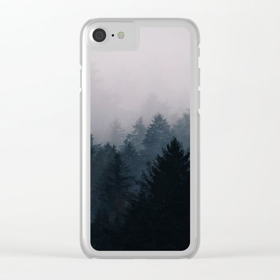Lost in the Fog Clear iPhone Case