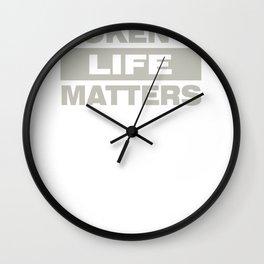 Token's Life matters Wall Clock