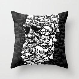 Darwin: Endless forms Throw Pillow
