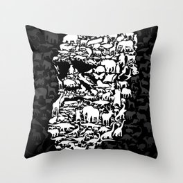 Darwin: Endless forms Throw Pillow