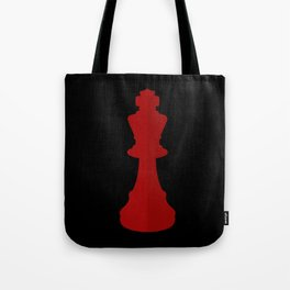 Red Chess Piece - No Text Tote Bag