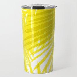 Palms Yellow Travel Mug