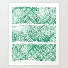 Knitwork I Art Print