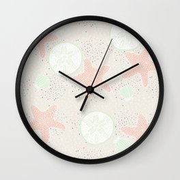 Beach Wedding Wall Clock