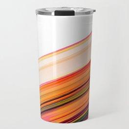 Fast Forward Abstract Artwork Travel Mug