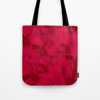 dna Tote Bags featuring DNA by Hipsterdirtbag