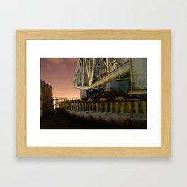 Finnieston Crane Framed Art Print
