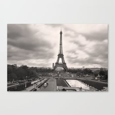 The Famous Tower 2 Canvas Print