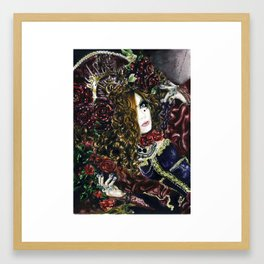 Beautiful Countness Framed Art Print