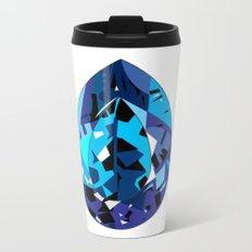 GEMS - blue , shine , single piece Metal Travel Mug
