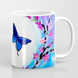 Butterfly Print Coffee Mug