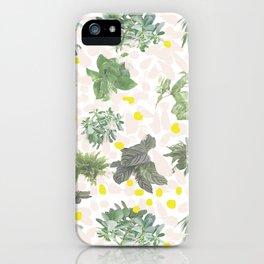 Salad Floral iPhone Case