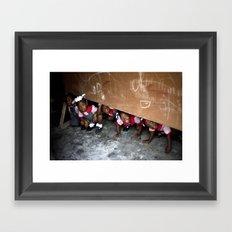 The Children of Crista College Framed Art Print