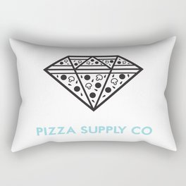 Pizza Supply Co (w/background) Rectangular Pillow