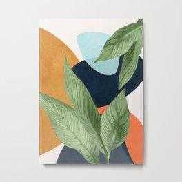 Nature Geometry VIII Metal Print