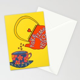 Take Time For Tea Stationery Cards