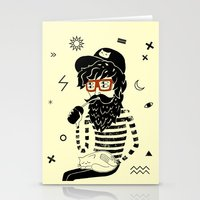 dreamer Stationery Cards featuring Dreamer by Anya Volk
