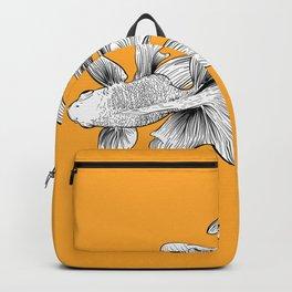 orange fish Backpack