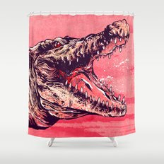 Wicked Croc Shower Curtain