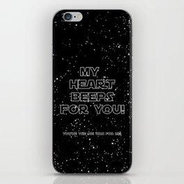 Star Crossed lovers 2 iPhone Skin