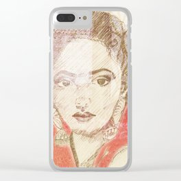 Sherazade Clear iPhone Case