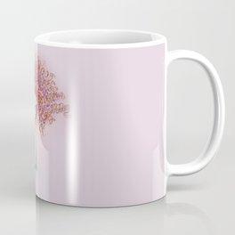 Messy hair girl hand illustration Coffee Mug