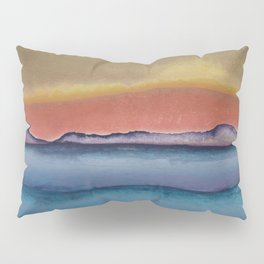 Abstract Landscape 01 Pillow Sham