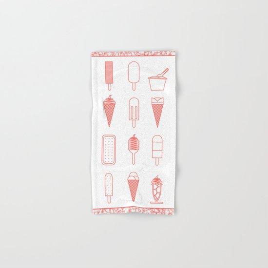 Ice creams (alternate version) Hand & Bath Towel