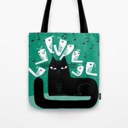CAT CHOIR Tote Bag