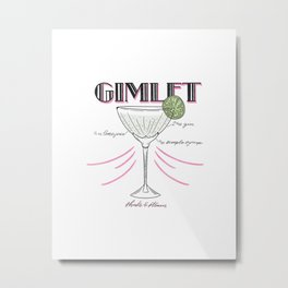 Gimlet Metal Print