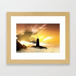 Light Of The Life Framed Art Print