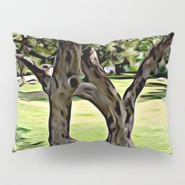 Dance of the Olive Tree Pillow Sham