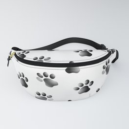 Cat Dog Animal Paw Prints Fanny Pack
