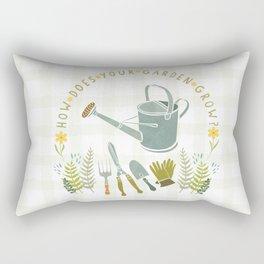 How Does Your Garden Grow? Rectangular Pillow