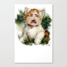 merry cagemas  Canvas Print