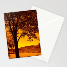 For the Love of Orange Stationery Cards