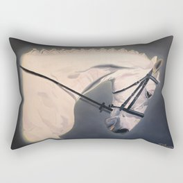 Dressage Competitor Rectangular Pillow