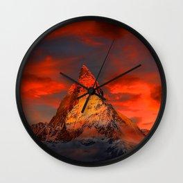 AYO MOUNTAIN Wall Clock