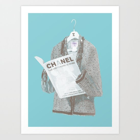 Forever I: Lecture Art Print