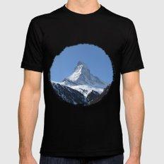 Matterhorn Mens Fitted Tee MEDIUM Black