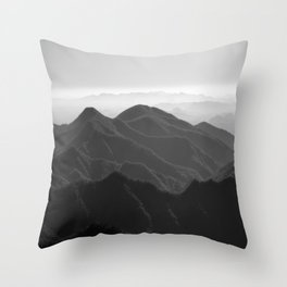 I was a lonely estate  Throw Pillow