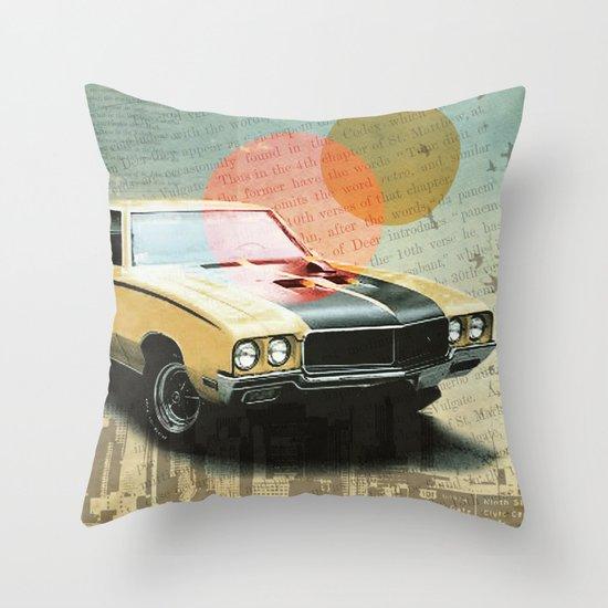 Buick Gran Throw Pillow
